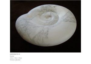 Modern Artists: Ammonite II by Nicola Beattie