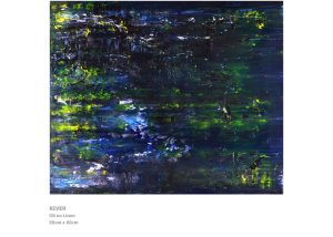 Abstract Painting by Nicola Beattie - River