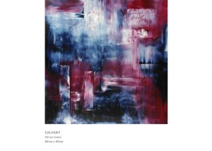 Abstract Painting by Nicola Beattie - Calvary
