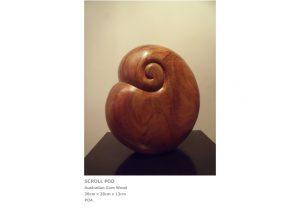 rt by Sculptor Nicola Beattie - Scroll Pod