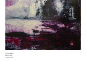 Modern Art by Nicola Beattie - New Dawn
