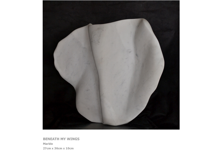 Sculptures by Nicola Beattie - Beneath My Wings