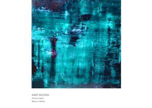 Modern Art by Nicola Beattie - Deep Waters