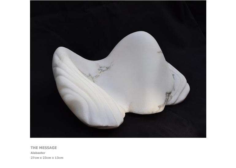 Sculptures by Nicola Beattie - The Message