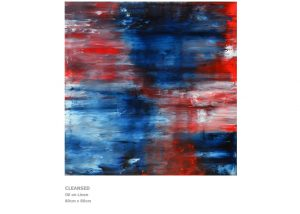 Abstract Painting by Nicola Beattie - Cleansed