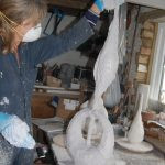 Sculptures by Nicola Beattie -Working on Grace and Truth